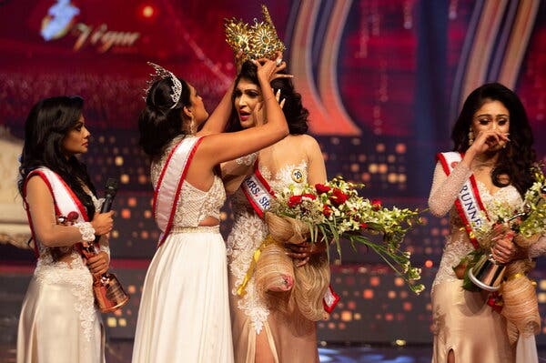 Reigning Mrs World resigns, as first runner up takes over
