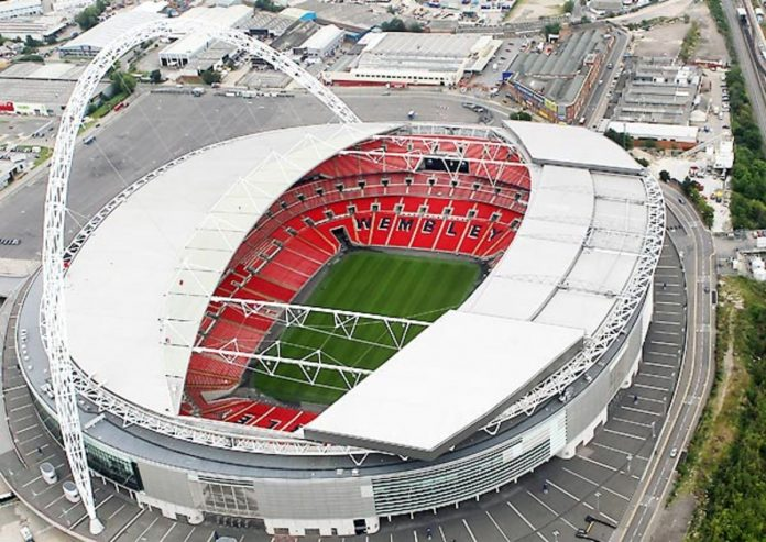 Wembley Stadium to welcome back fans as part of government's test
