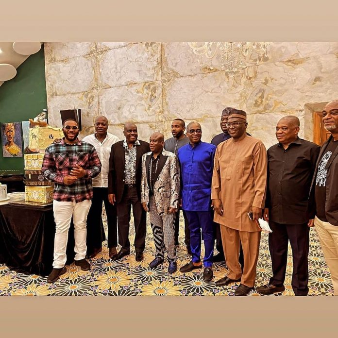 PHOTOS: Gbajabiamila, Orji Kalu, others attend Terry Waya's birthday dinner