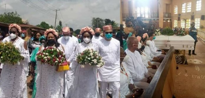 Photos from Chimamanda Ngozi Adichie's mother's burial