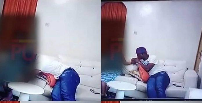 VIDEO: CCTV footage of Baba Ijesha molesting 14-year-old girl